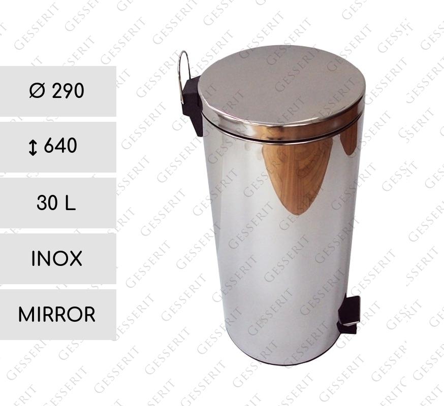 rg 30 liter edelstahl rostfrei spiegelnd. Black Bedroom Furniture Sets. Home Design Ideas